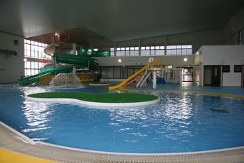 マリンピア喜入室内温水プール児童用プール
